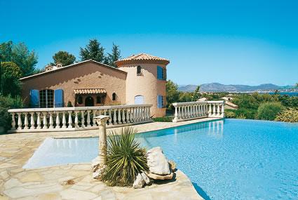 Ferienhaus in Frankreich, z.B. an der Cote d'Azur