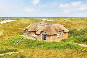 Ferienhaus in Dänemark an der Nordsee in den Dünen